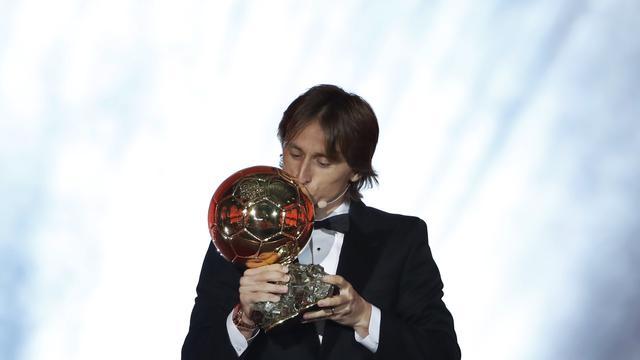 Luka Modric Berhasil Memenangkan Ballon d'Or 2018